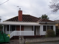 Re-Roofing - Before